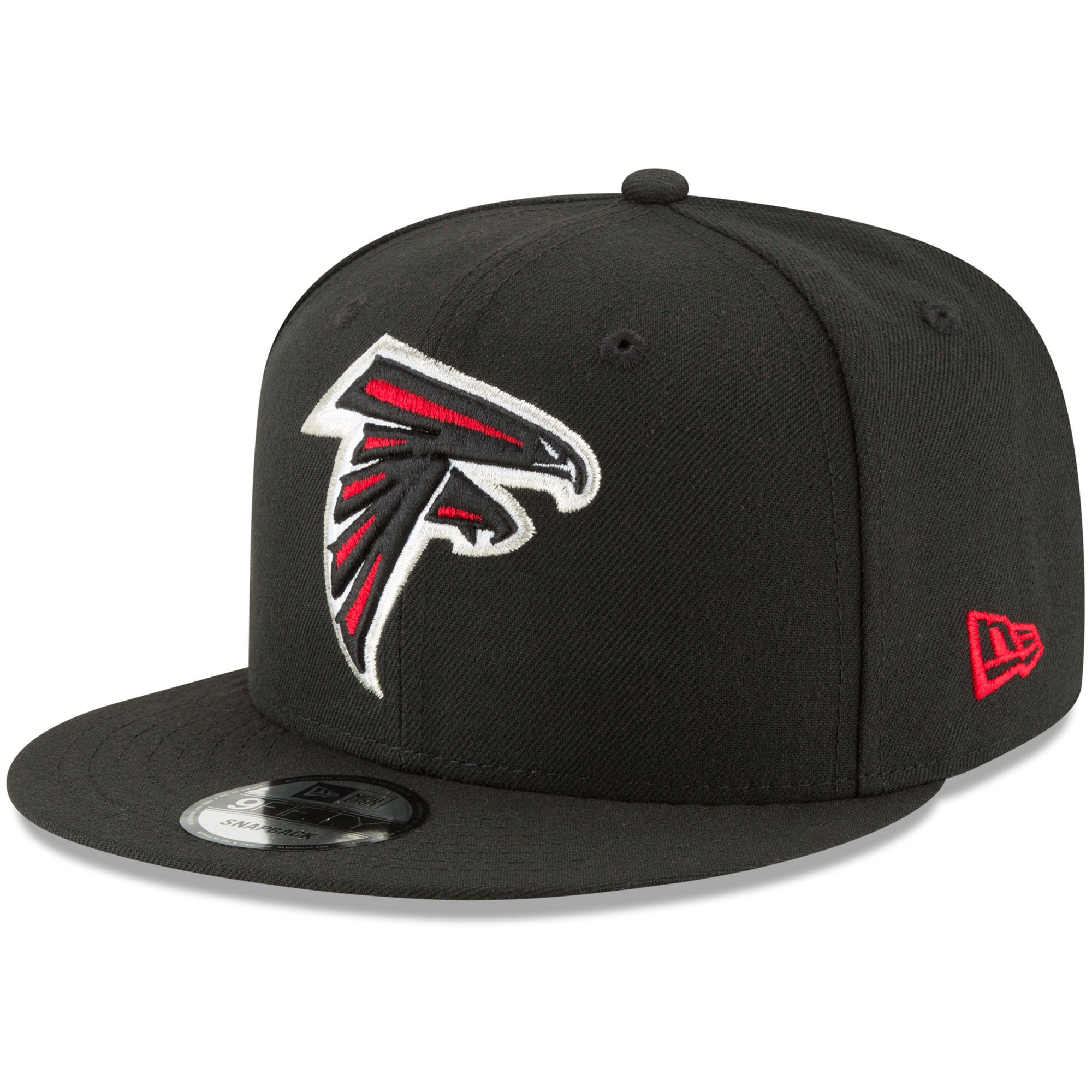 Atlanta Falcons New Era Basic 9fifty Adjustable Snapback Hat Black In 2020 Hats For Men Snapback Hats Atlanta Falcons Gear