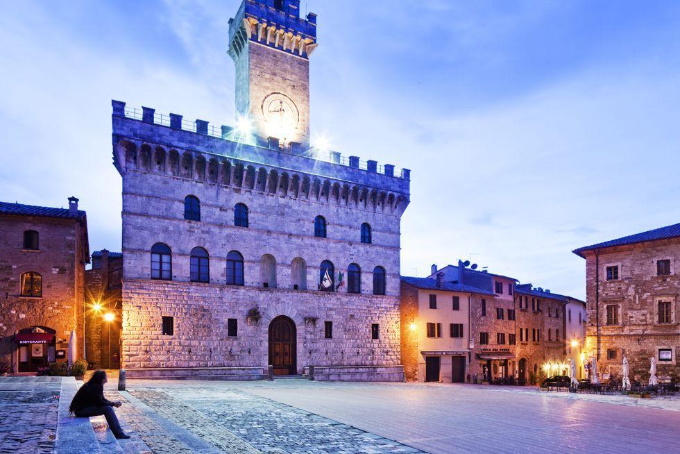 El arquitecto florentino Michelozzo fue el autor del Palazzo Comunale de Montepulciano,