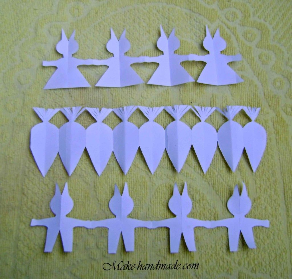 Easter paper crafts for kids bunny carrot garlands paper art easter paper crafts for kids bunny carrot garlands jeuxipadfo Image collections