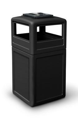 25 Gallon Square Trash Can