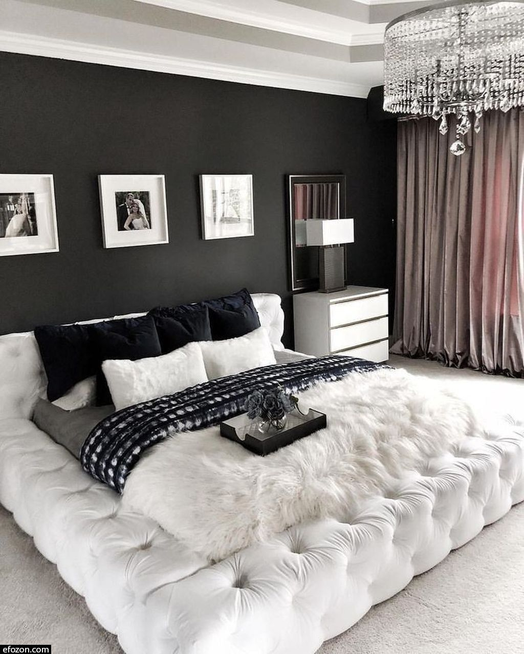 50 Amazing White Bedroom Design In The Small Apartment Image 9 Of 64 Luxurious Bedrooms Glamourous Bedroom White Luxury Bedroom