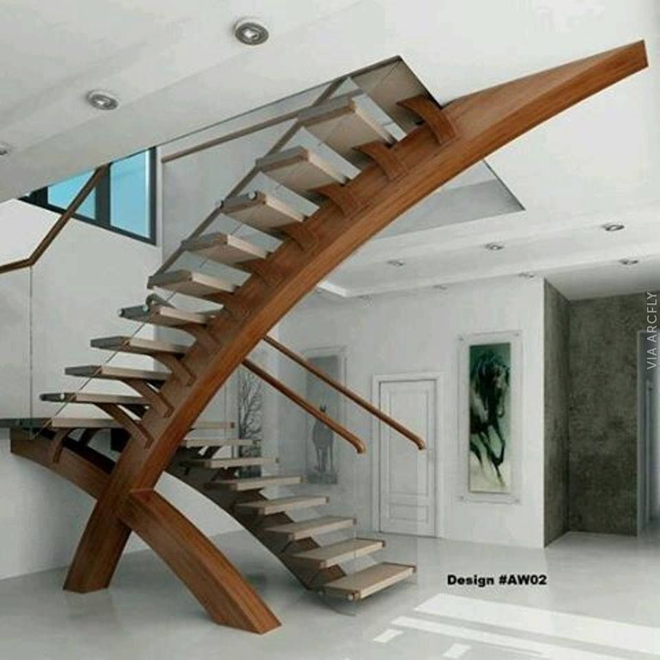 Look 200 Wonderful Design For Stair Staircase In 2019 Stairs Design Modern Modern Stairs Contemporary Stairs