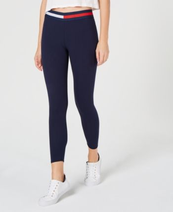 6afe8167 Logo-Waistband Jersey Leggings in 2019 | Products | Tommy hilfiger ...