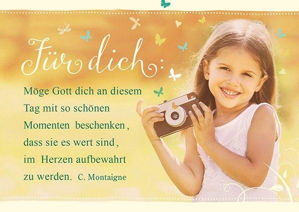 Postkarte Für Dich Schöne Momente Weisheiten Zitate