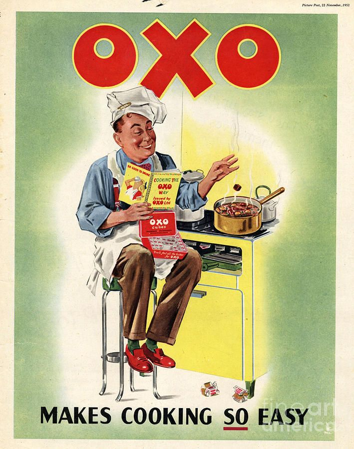 A2  Reprint Vintage Bisto Kids Advertising Poster A3