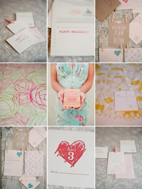 Sweetness #12: Paper Invitations {photography by @Elizabeth Messina}