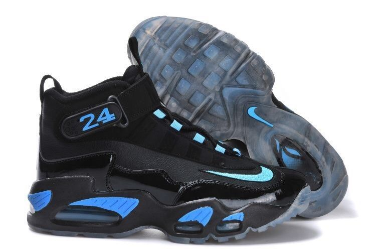 the latest 9c45e eed43 GUC   NIKE AIR GRIFFEY MAX 1 HI TOP   BLACK   BLUE Sneakers SZ 10  (354912-030)  fashion  clothing  shoes  accessories  mensshoes   athleticshoes (ebay link)