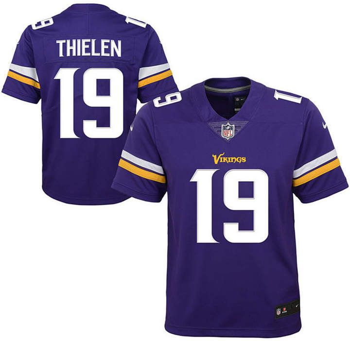 buy online cfc34 1fd55 Nike Adam Thielen Minnesota Vikings Color Rush Jersey, Big ...