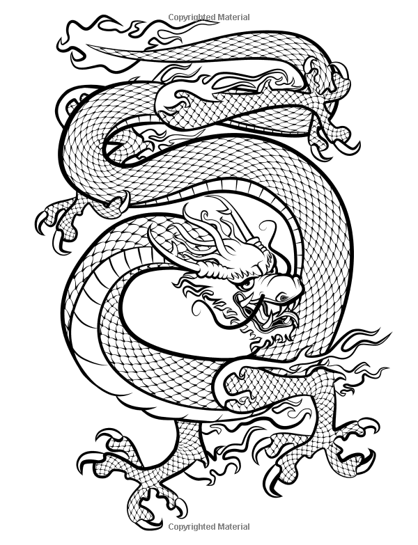 Dare Dragons Adult Coloring Books Featuring Over 25 Fierce And Stress Relieving Dragon Designs 9781944575588