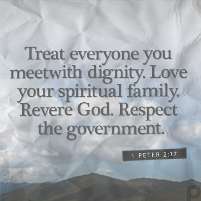 Treating Others With Respect Bible Verses