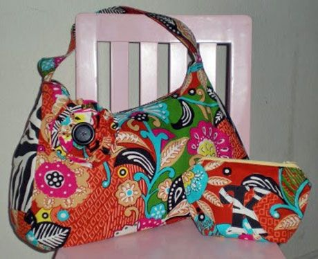 Cute and Functional Purse - Free Sewing Tutorial | Purse, Tutorials ...