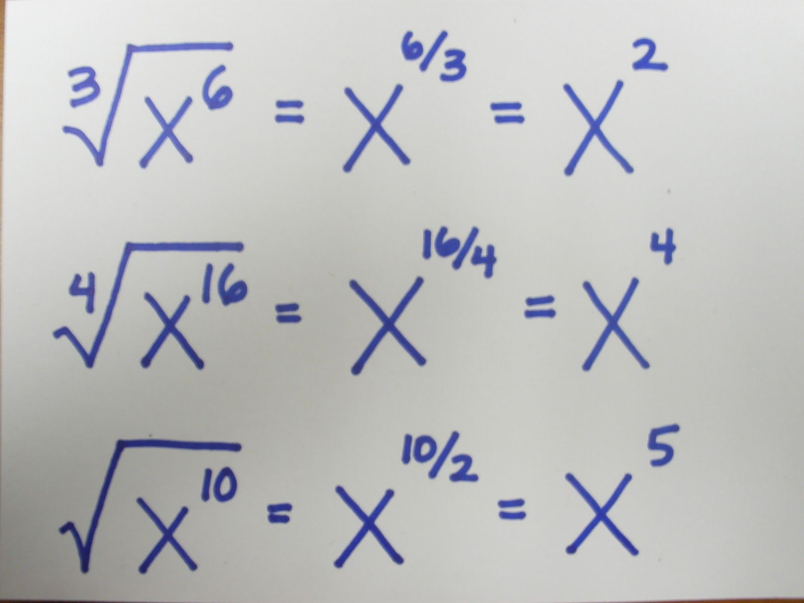 Fraction Exponents Easy With Images