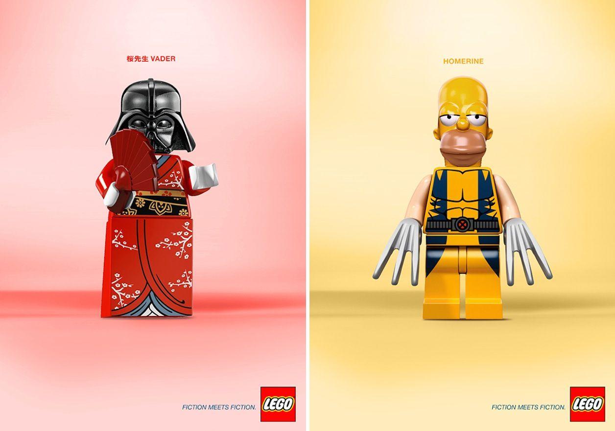 Legos se encontram com Legos