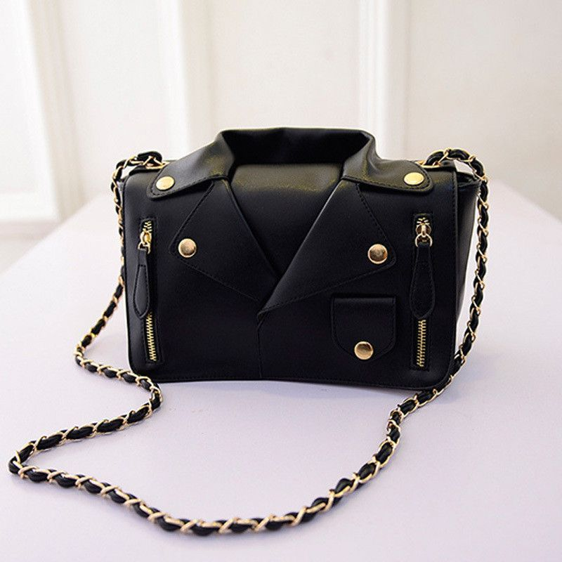 Promotion!Hot brand Motorcycle Bags Women Clothing Shoulder Jacket Bags Messenger Bag Women Leather Handbags