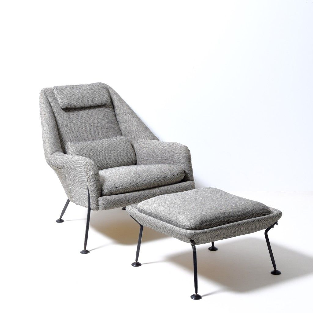 Ernest Race Heron Chair And Stool