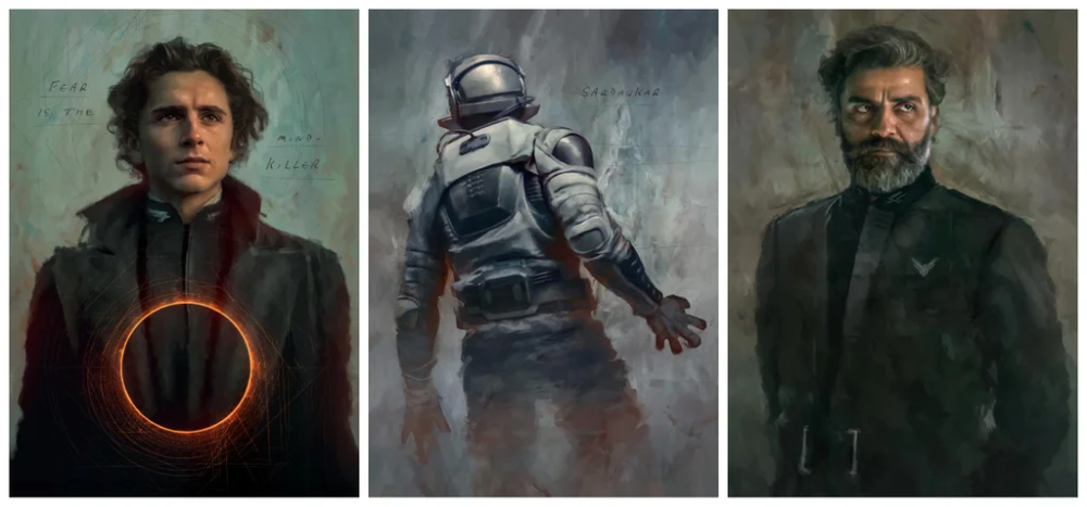 A Series Of Images Inspired By Denis Villeneuve S Dune Dune Dune Dune Art Sci Fi Concept Art