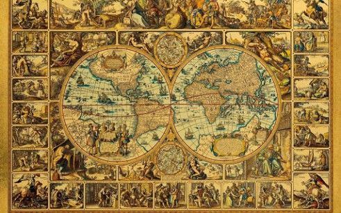 Hd vintage wallpapers google search wallpapers pinterest antique world map wallpaper gumiabroncs Gallery