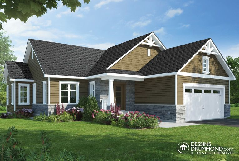 Classic Style Homes, Country Style Homes W3284CIG Maison Laprise - liste materiaux construction maison