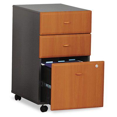 Bush Industries WC57453SU Bush Mobile Pedestal File #WC57453SU #BushIndustries #FileCabinets  https://www.officecrave.com/bush-industries-wc57453su.html