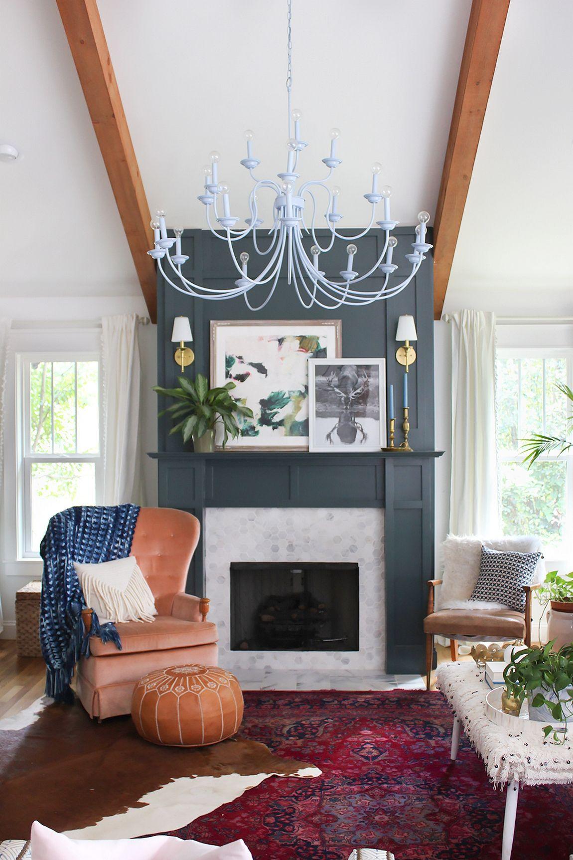 130 Gorgeous Living Room Design Ideas