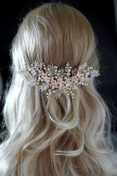 Photo of Items similar to Florence | Bridal Headpiece, Bridal Comb, F…