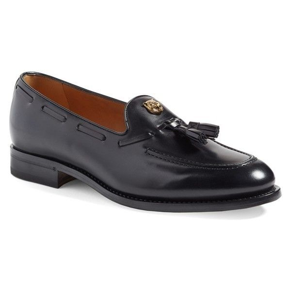 ff9b4d0aa68 Men s Gucci  sagan  Tasseled Venetian Loafer ( 890) ❤ liked on Polyvore  featuring