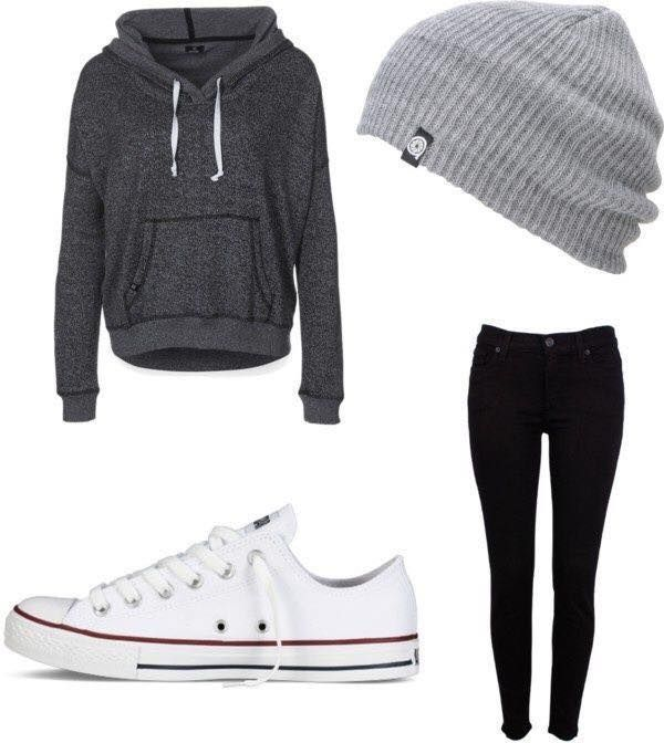 dbe34b5cc 23 Cute Winter Outfits For College High School Girls