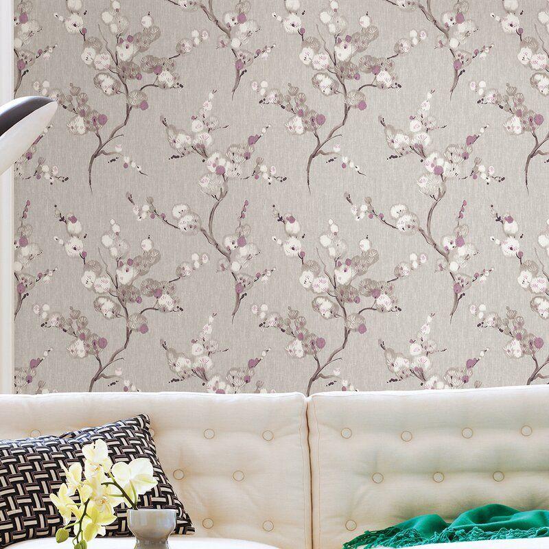 World Menagerie Bliss Blossom 10m X 52cm Wallpaper Roll Wallpaper Roll Wallpaper Lounge
