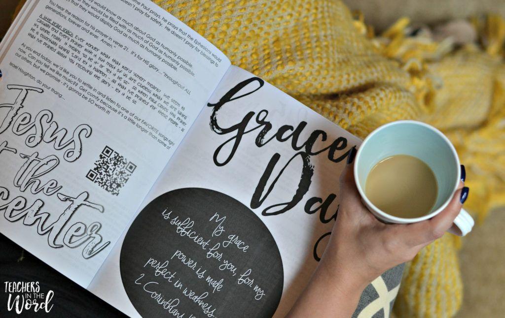 Grace Changes Everything Christian school teacher