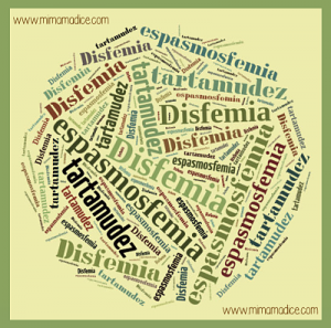 Disfemia, tartamudez o espasmosfemia