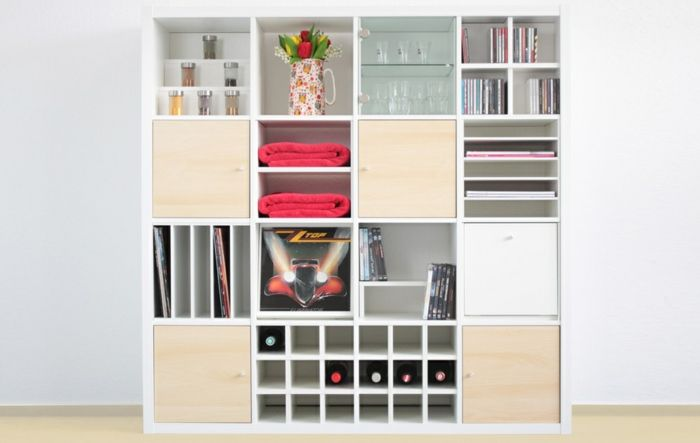 ikea expedit au ergew hnliche ordnung nach schwedischer art interieurdesign pinterest. Black Bedroom Furniture Sets. Home Design Ideas