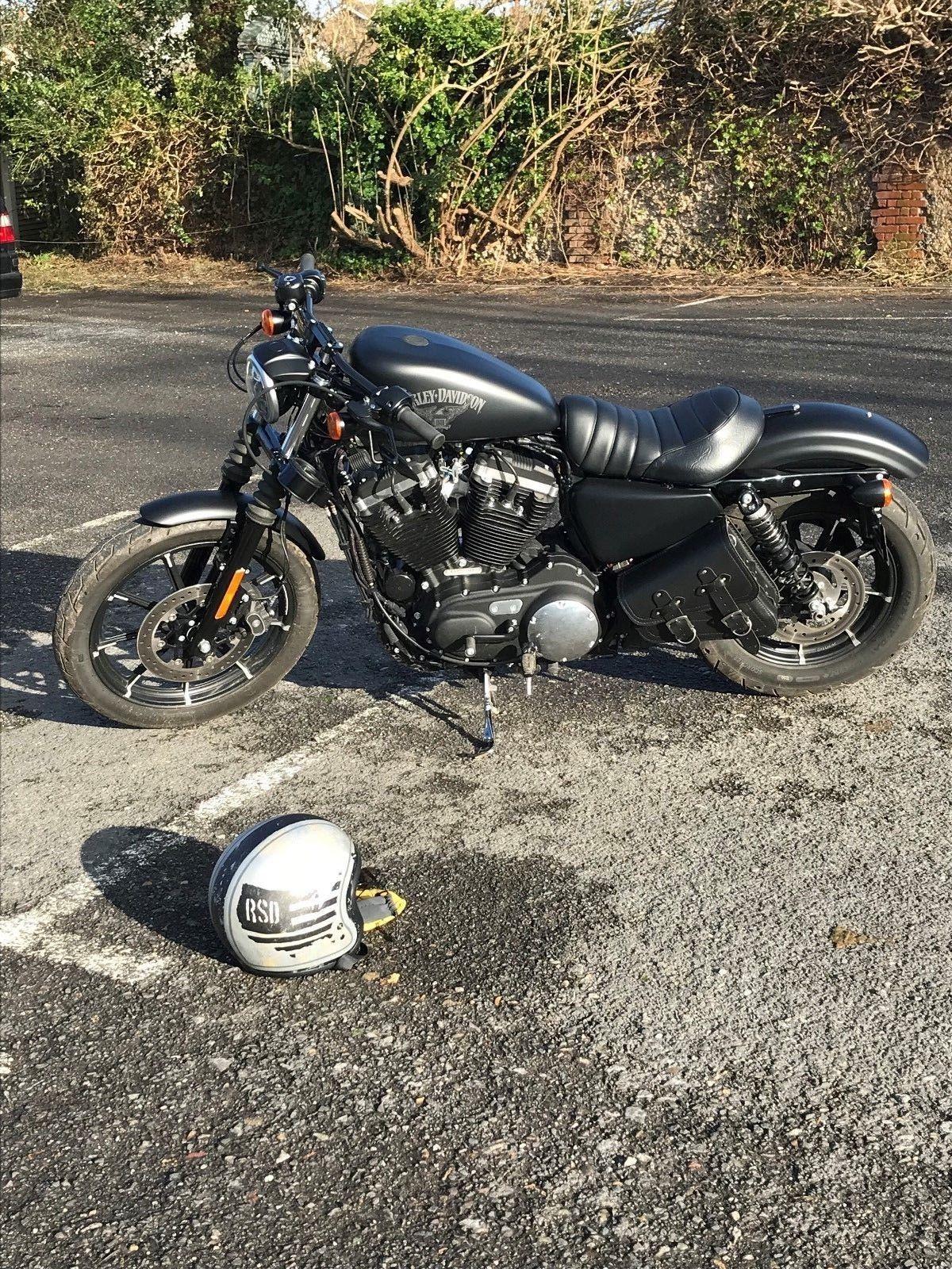 Ebay 2017 Harley Davidson Sportster 883 Iron Custom Harley Raised