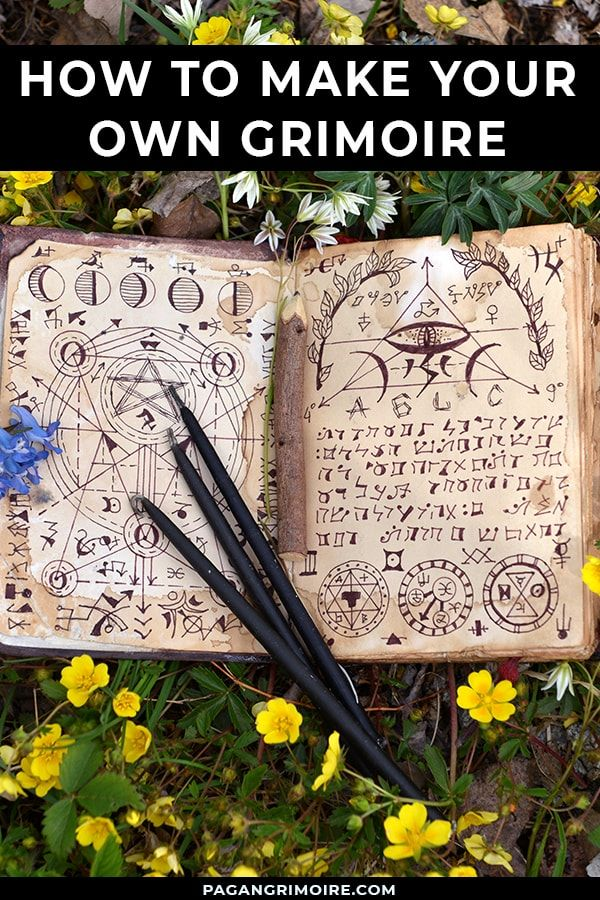 Grimoires: What Are They and How Do You Make One? | The Pagan Grimoire