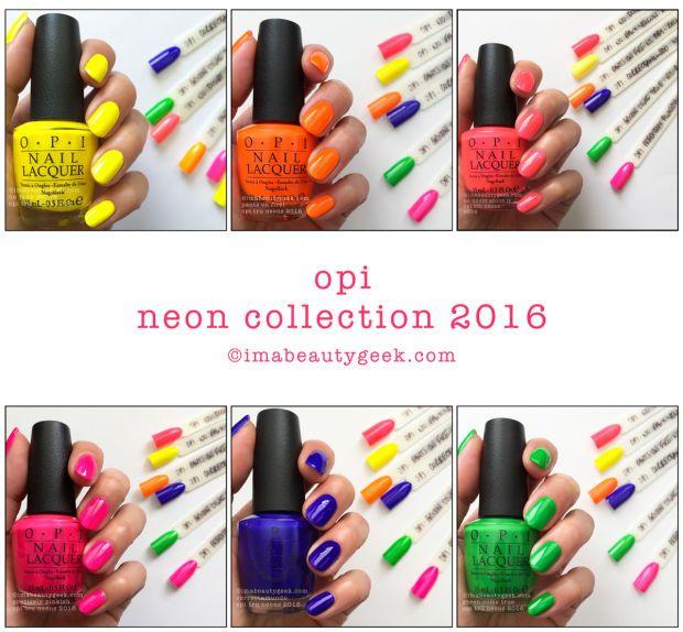 OPI Tru Neon Collection 2016... Podría prescindir de ellos, pero no ...