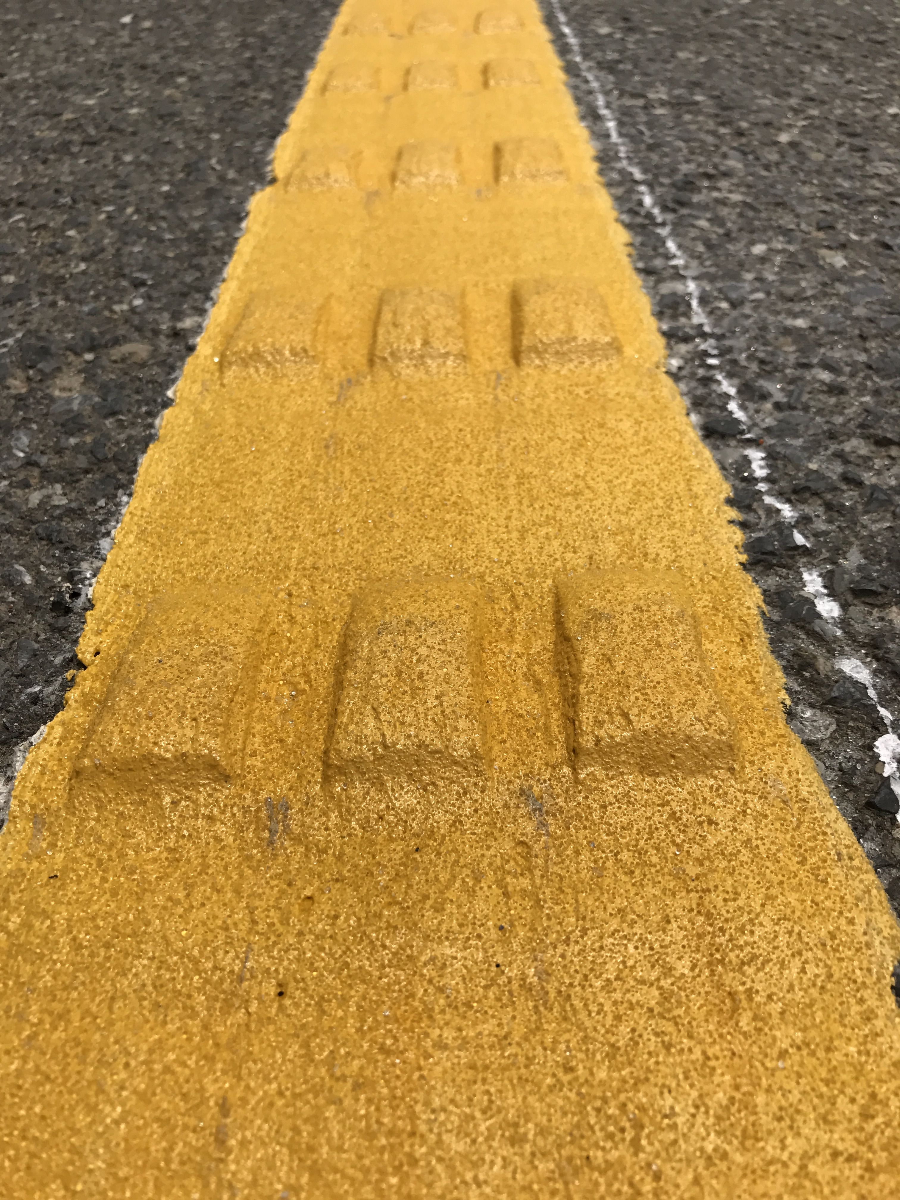 Prefessional convex thermoplastic road marking paint for vibration ...