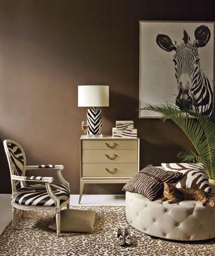 Living Room Animal Print Decor Home Decor Luxury Decor