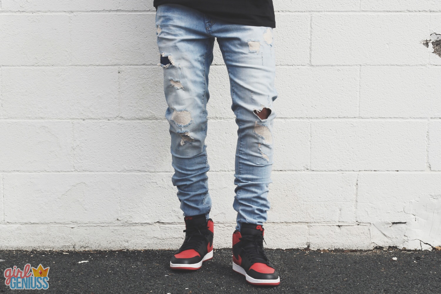 zara mens ripped denim jeans | Mens fashion | Pinterest | Ripped ...