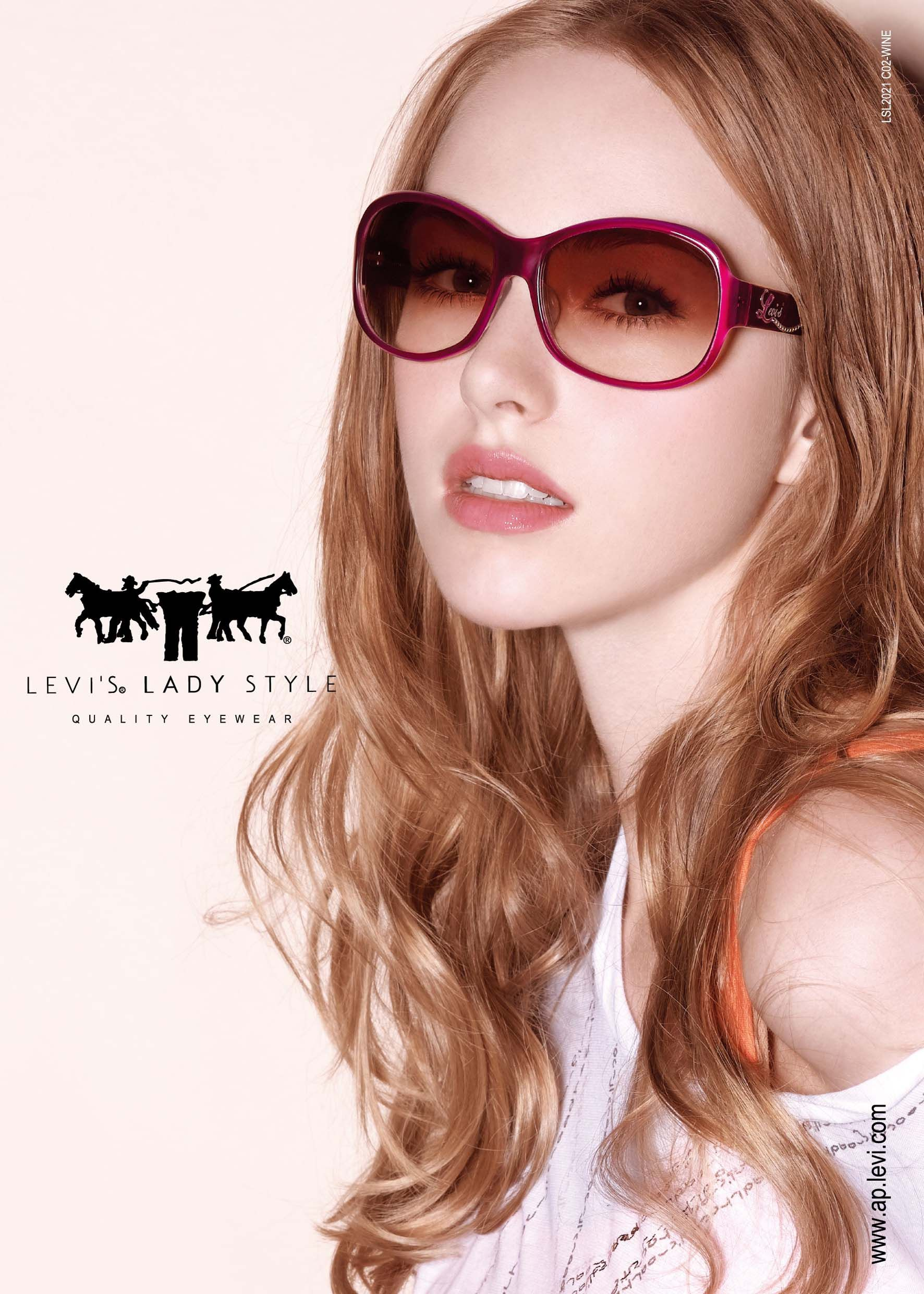 552fde1690a4b Levi s Lady Style 2011 Image Visual Sunglasses   Vier Augen ...