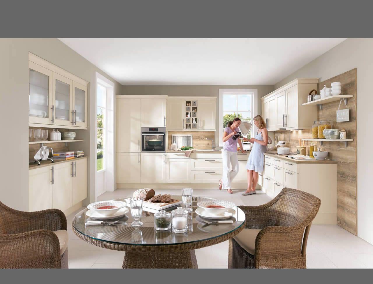 Nobilia - Chalet 883 - Lack, Magnolia matt | Küche | Pinterest ...