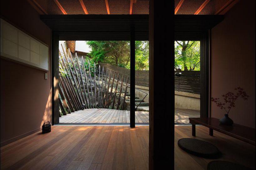UZU architects: guesthouse in arima
