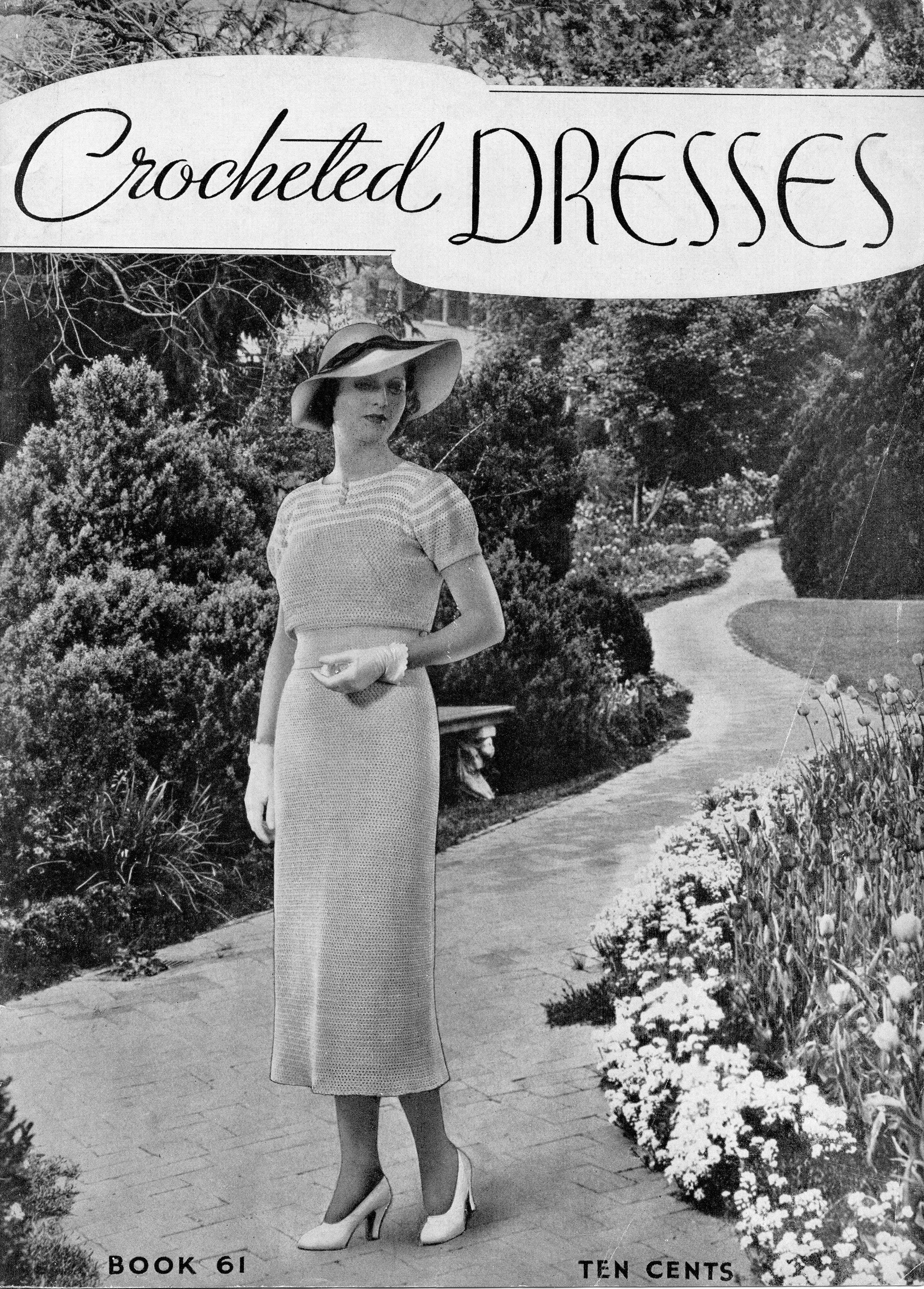 Garden Party Dress 1930s Crochet Pattern 30s Skirt Top Patterns Starshop Vintage Vintage Dress Patterns Crochet Skirt Pattern Garden Party Dress [ 3212 x 2303 Pixel ]