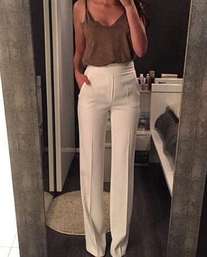 Investing In Street Appeal With Style: Best 25+ Cream Trousers Ideas On Pinterest