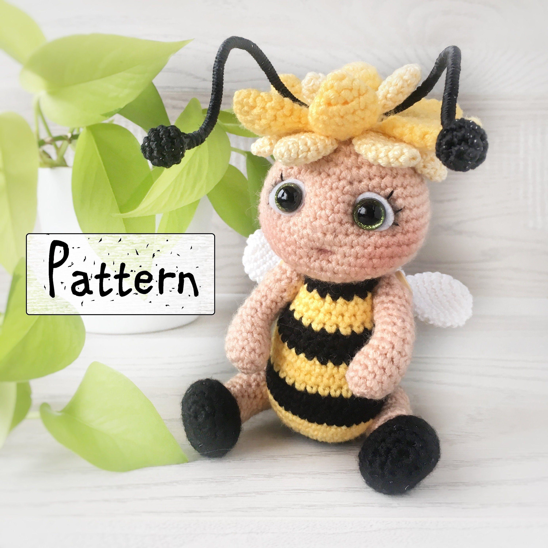 How to Crochet a Bumble Bee || Amigurumi Pattern Tutorial - YouTube | 3000x3000