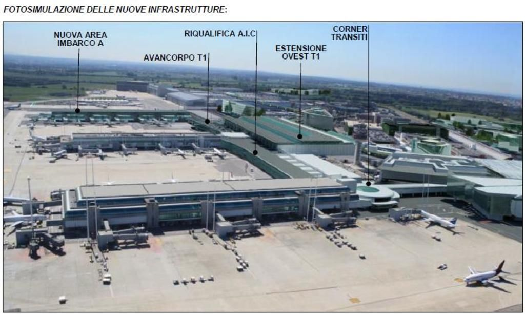Rome S Leonardo Da Vinci Fiumicino Airport Expansion Plans For T 1 And Piers