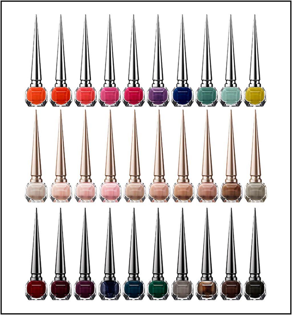 Golden Chain :: christian louboutin nail polish colors
