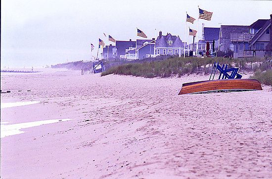 Bay Head Beach My Grandmother S House Was At About The 2nd 3rd Flag In