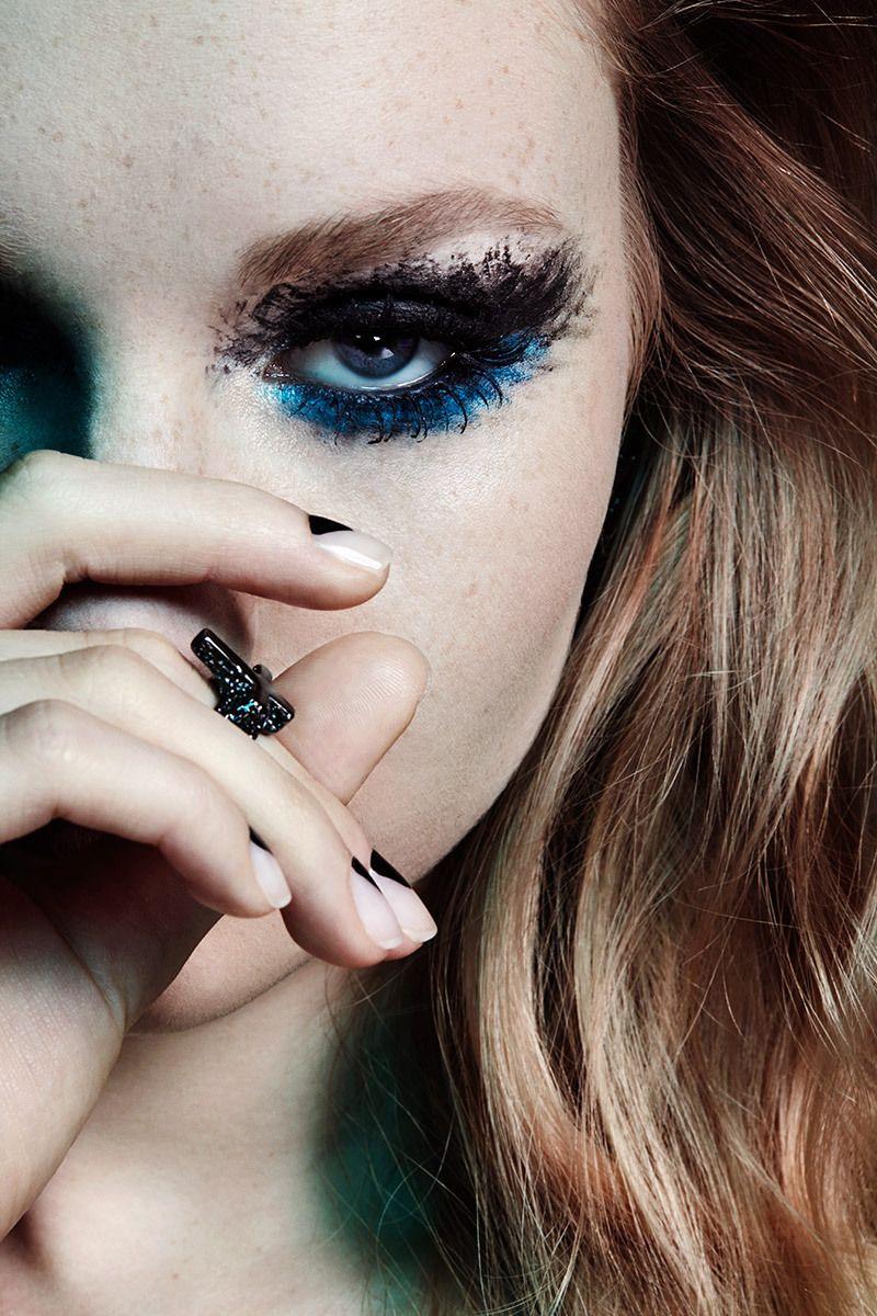 Nylon Magazine Grungy Rock n Roll Rocker Chic Makeup Zanna Van Vorstenbosch