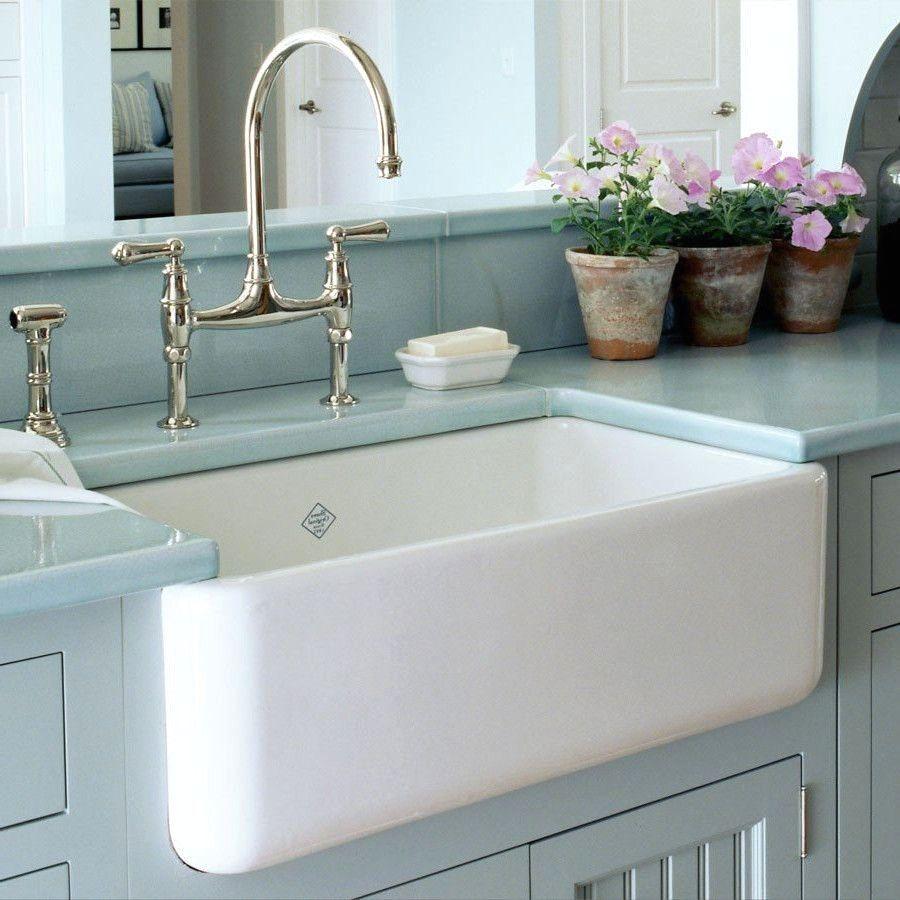 Shaw Farmhouse Sink With Images Farmhouse Sink Faucet Farm Sink Kitchen Fireclay Farmhouse Sink