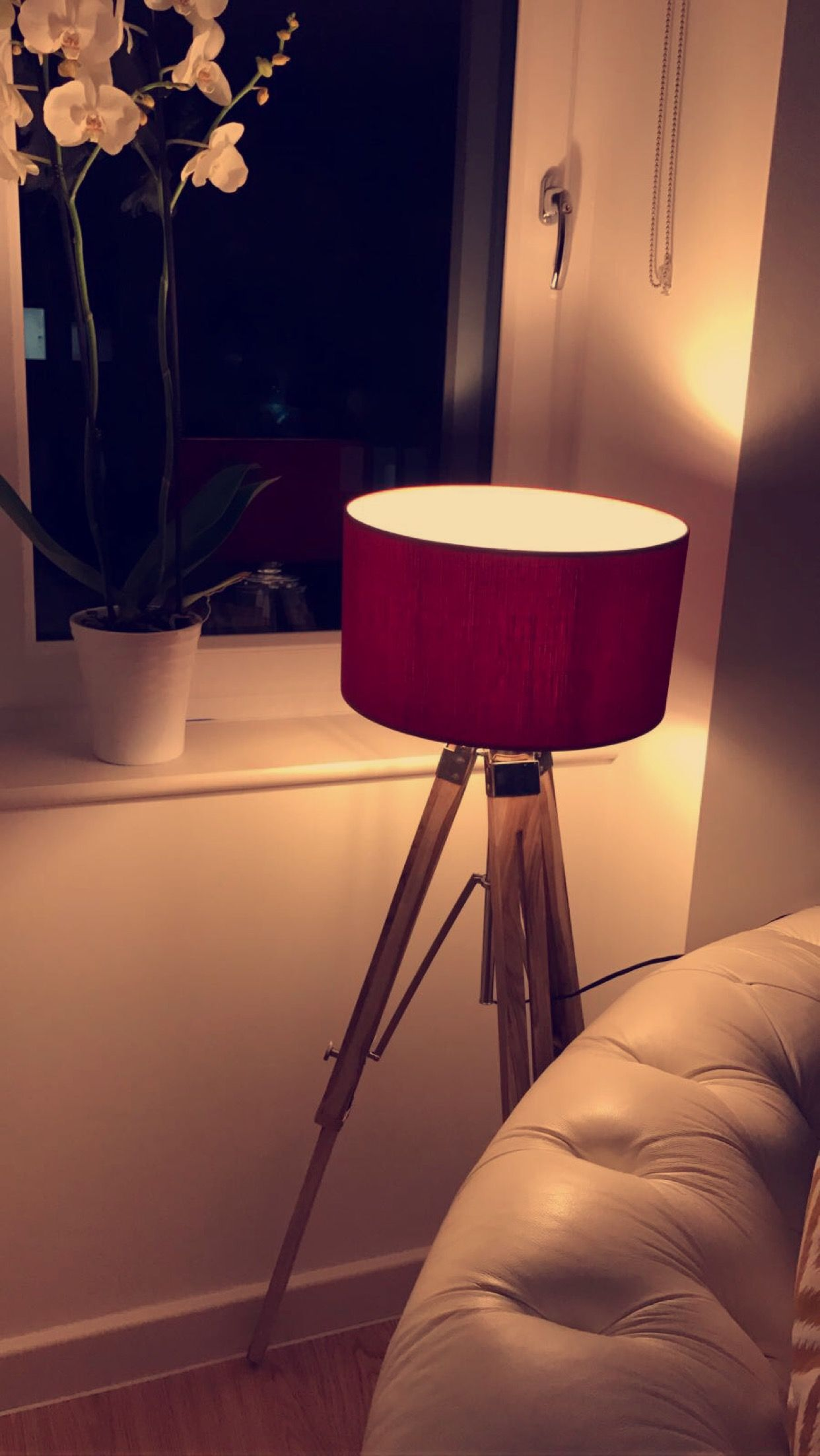 Ambience By A Home Decor Tripod Lamp Lamp