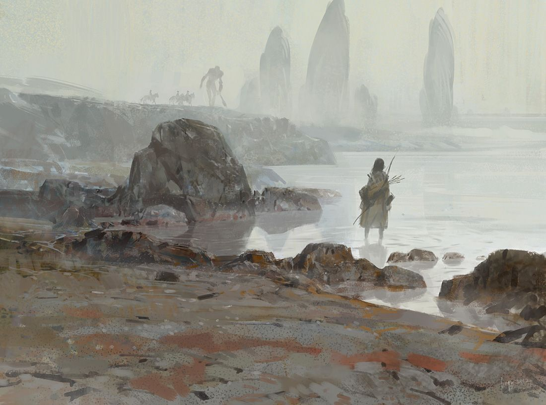 riverbank by lingy-0.deviantart.com on @deviantART